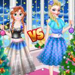 Ellie VS Annie Christman Tree