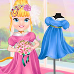 Gorgeous Little Princess Dress Up
