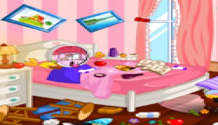 Hello Kitty Room Cleanup Zee Games Girl Games And Baby Games