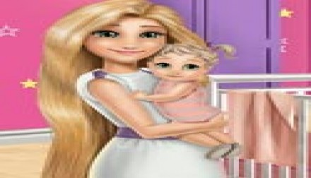 Mommy Rapunzel Home Decoration