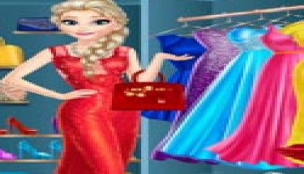Elsa Dress Up Room (839 times)