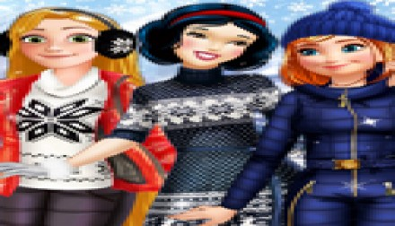 Princesses Winter Fun (541 times)