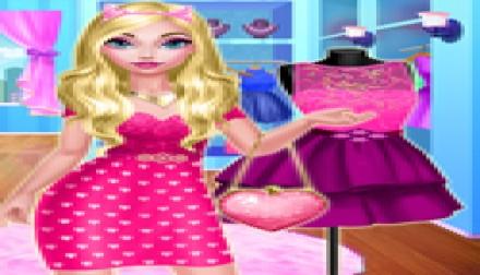 Elise's Pink Dress (819 times)