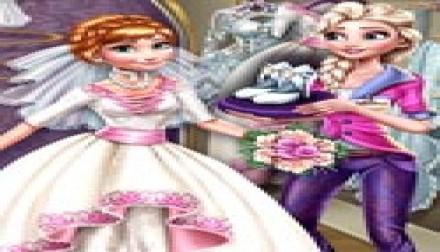 Elsa Preparing Anna Wedding (1 149 times)