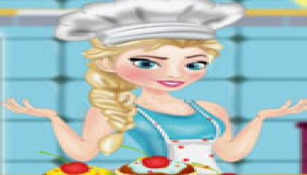 Elsa cooking muffins (204 times)