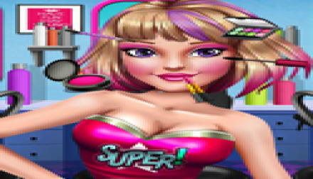 Super Hero Make Up Salon (1 995 times)