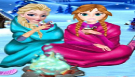 Frozen Sisters Winter Holiday (731 times)