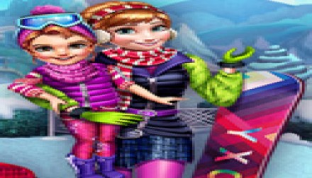 Winter Games Dressup (206 times)