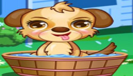 Dora Cute Puppy Caring (146 times)