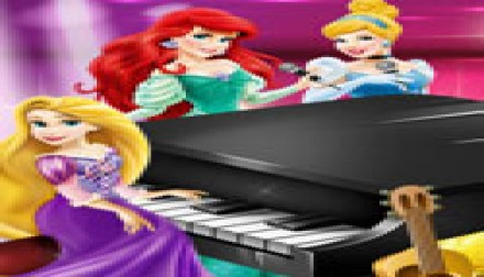 Princesses Music Party