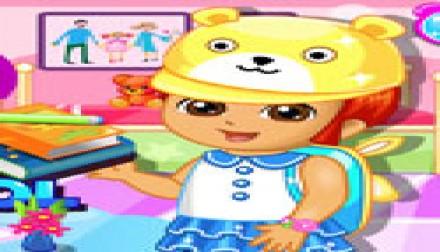 Dora Prepare For School