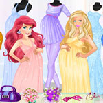 Pregnant Princesses Fashion Outfits