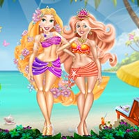 Princess Swimwear Summer Fashion